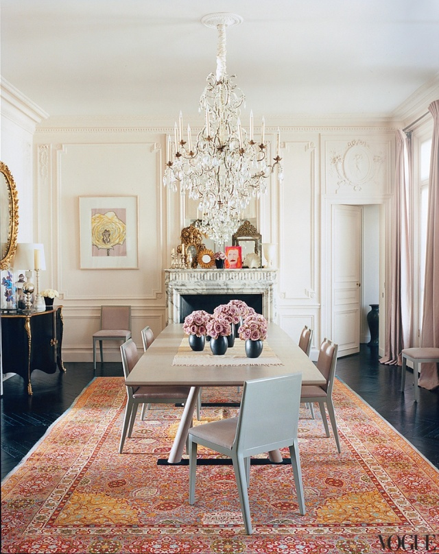 L'wren Scott's Parisian Home